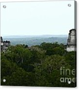 View From The Top Of The World Acrylic Print