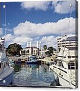 View From Waterfront Cafe Acrylic Print