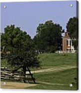 View Of Appomattox Courthouse 1 Acrylic Print by Teresa Mucha