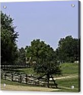 View Of Appomattox Courthouse 2 Acrylic Print by Teresa Mucha
