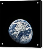 View Of Earth Taken From The Aollo 8 Acrylic Print