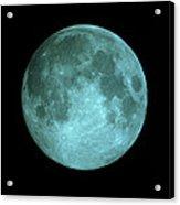 View Of Full Moon Acrylic Print