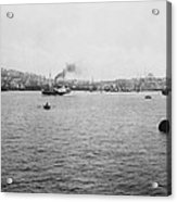 View Of Galata And Istanbul - Between 1880-1893 Acrylic Print
