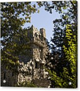 View Of Gillette Castle Acrylic Print