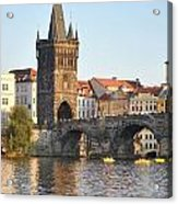 View Of Karluv Most Prague Acrylic Print