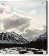 View Of Quill Creek In Kluane National Acrylic Print