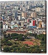 View Of Sao Paulo Skyline Acrylic Print