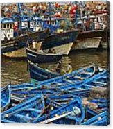 View Of Skala Du Port Acrylic Print