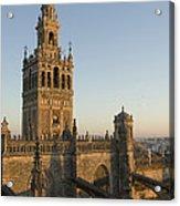 View Of The Giralda Tower Acrylic Print