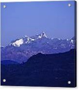 View Of The Himalayas Acrylic Print