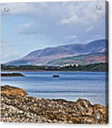 View Of The Isle Of Arran Acrylic Print