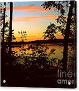 View Of The Lake Acrylic Print