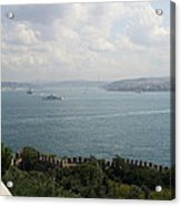 View Of The Marmara Sea - Istanbul Acrylic Print
