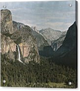 View Of The Mountain El Capitan Acrylic Print