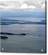 View Of The San Juan Islands From Mt. Constitution  Acrylic Print