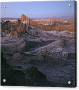View Of The Valley Of The Moon Acrylic Print by Joel Sartore