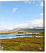 View Over Loch Ba Acrylic Print