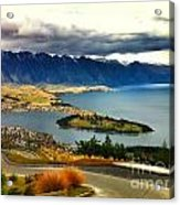 View Over Welly Acrylic Print