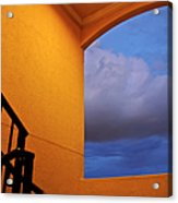 View Through A Stairwell Acrylic Print