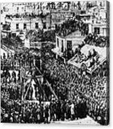 Vigilante Lynching, 1856 Acrylic Print