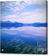 Vignette Lake Pend Orille  Acrylic Print
