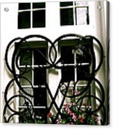 Viking Window  Acrylic Print