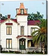 Villa Villekulla The Pippi Longstocking House Amelia Island Florida Acrylic Print
