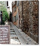 Village Alley Acrylic Print
