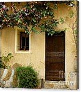 Village House In Bormes Acrylic Print