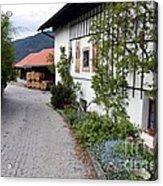Village In Tyrol Acrylic Print
