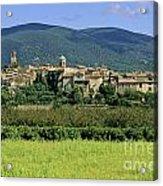 Village Of Lourmarin. Luberon. Vaucluse Acrylic Print