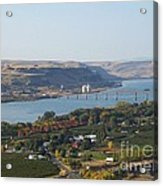 Village Of Maryhill Acrylic Print