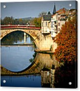 Villeneuve Sur Lot Acrylic Print by Georgia Fowler