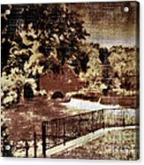 The Red Mill  Bucks County Nj  Acrylic Print