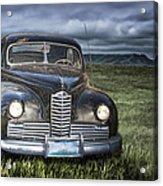 Vintage Auto On The Prairie Acrylic Print