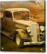 Vintage Automobile No.007 Acrylic Print