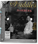 Vintage Barbershop 2 Acrylic Print