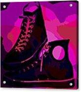 Vintage Basketball Shoes Acrylic Print