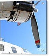 Vintage Boac British Overseas Airways Corporation Speedbird Flying Boat . 7d11270 Acrylic Print
