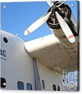 Vintage Boac British Overseas Airways Corporation Speedbird Flying Boat . 7d11279 Acrylic Print