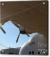 Vintage Boac British Overseas Airways Corporation Speedbird Flying Boat . 7d11286 Acrylic Print by Wingsdomain Art and Photography