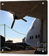 Vintage Boac British Overseas Airways Corporation Speedbird Flying Boat . 7d11287 Acrylic Print by Wingsdomain Art and Photography