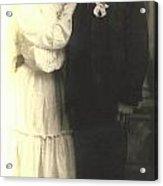 Vintage Bride And Groom Acrylic Print