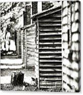 Vintage Cabins Acrylic Print