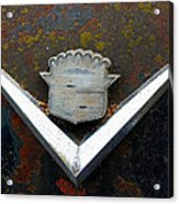 Vintage Caddy Emblem Acrylic Print