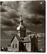 Vintage Church Acrylic Print