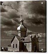 Vintage Church Acrylic Print