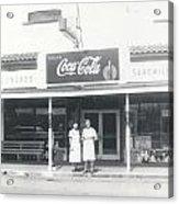 Vintage Coca Cola Store Acrylic Print