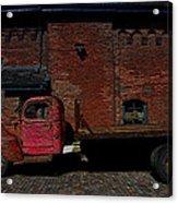 Vintage Distillery Truck Acrylic Print