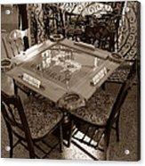 Vintage Domino Table Acrylic Print